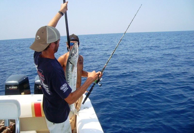 Some Basic Facts about Fishing in a Deep Sea