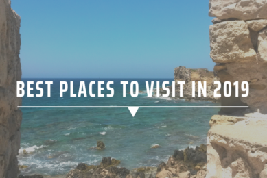 Best places to visit in 2019