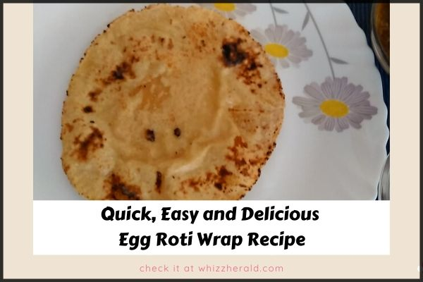 Egg Roti Wrap Recipe