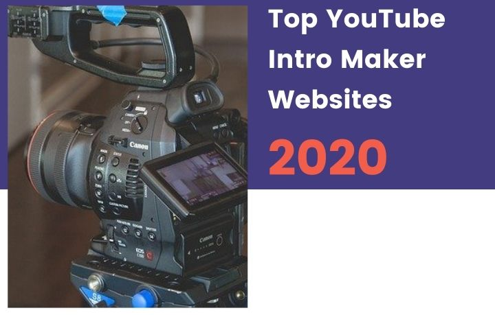 YouTube Intro Maker Websites
