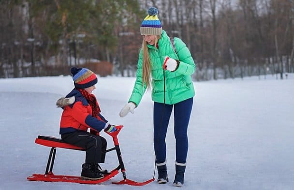 Children's tips for dressing outside in winter